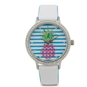NWT Tommy Bahama Pink Pineapple Watch